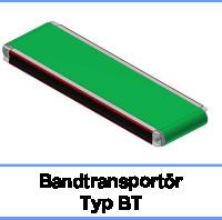 Bandtransportör Typ BT