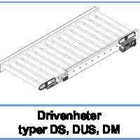 Drivenheter typer DS, DUS, DM