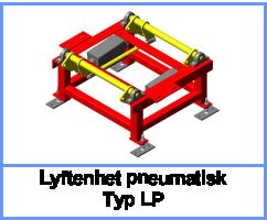 Lyftenhet pneumatisk Typ LP
