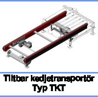 Tiltbar kedjetransportör Typ TKT