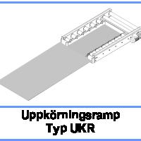 Uppkörningsramp Typ UKR