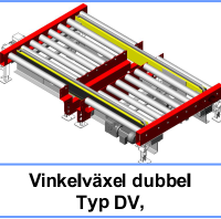 Vinkelväxel dubbel Typ DV
